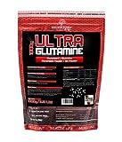BWG Ultra Glutamin Pulver, 100% pur, Aminosäure, Premium Qualität, optimiert mit Vit.B6, 1er Pack (1 x 1000g Beutel)