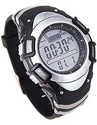 Docooler Thermomètre Montre Altimètre Multifonction Etanche FX704A Numérique Tout en Un 3ATM Baromètre de Pêche