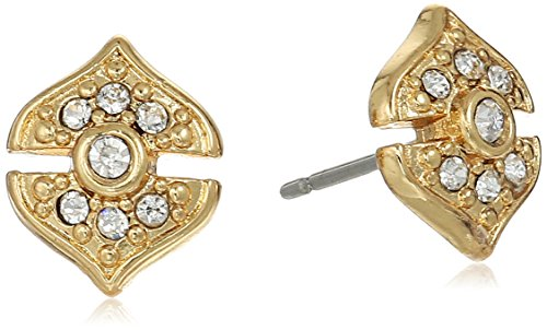 vince-camuto-pave-gold-stud-earrings
