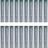 20 Baumschutz Manschetten Stamm Schutz Bäume Verbiss Fraßschäden Baum Rinden Schutz Farbe Grau