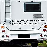 Selbstklebend WA304camping-car-plus 1000Sterne im Himmel als..., 24. Enzian, M-80 x 11 cm