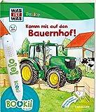 BOOKii® WAS IST WAS Junior Komm mit auf den Bauernhof!: Über 700 Hörerlebnisse und interaktive Spiele! (BOOKii / Antippen, Spielen, Lernen)