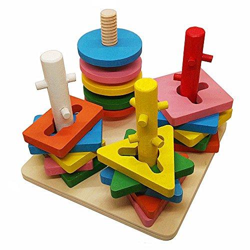 giocattoli-di-legno-stack-ordina-puzzle-colore-e-forma-geometrica-riconoscimento-consiglio-per-bambi