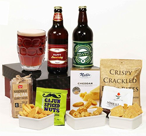 'Hoppy' 'Beer'thday - Beer & Nibbles Gift Hamper