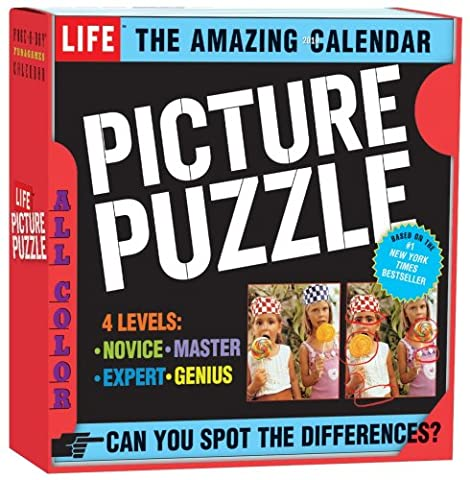 The Amazing Life Picture Puzzle Page-A-Day Calendar 2010
