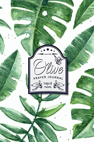 prayer-journal-healing-journal-back-to-the-nature-green-tropical-leaves-100-pages-for-prayer-journal