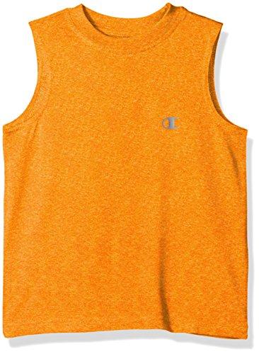 Meister kleine Jungs Leistung Muskel Tank, lebhaften Orange Heather, 4 -