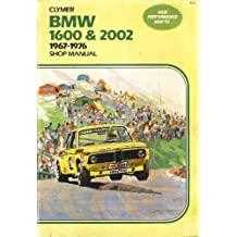 BMW service-repair handbook, 1600 and 2002 series, 1967-1976