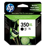 HP 350XL CB336EE pack de 1, haut rendement, cartouche d'encre d'origine, imprimantes HP DeskJet, HP OfficeJet, HP Photosmart, noir