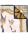 BURBERRY Damen 4075201 Braun Seide Schal