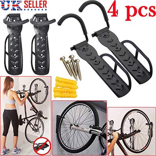 Safekom 4x bicicleta pared gancho accesorio soporte