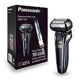 Panasonic Germania ES LV6Q S803Premium rasoio con flessibile 3d della testina, Rasoio elettrico per uomo, Rasoio a secco/umido, adattare ogni contorno, Nero