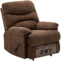 Zoy Fabric Recliner - Manla/Mocha