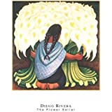 Diego Rivera – The Flower Seller Poster Print (60.96 x 81.28 cm)