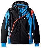 Spyder QUEST Boy's Challenger Jungen Ski Jacke schwarz