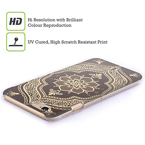 Head Case Designs Rampicante Henna Cover Retro Rigida per Apple iPhone 7 Plus / 8 Plus Cornice Mehndi