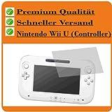 3x Entspiegelnde Displayschutzfolie von 4ProTec für Nintendo Wii U (Controller) - Nahezu blendfreie Antireflexfolie