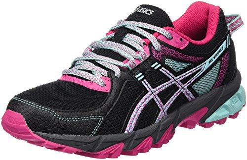 Asics Damen Gel-Sonoma 2 Traillaufschuhe Mehrfarbig (Black/Aqua Haze/Sport Pink)