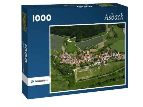 Preisvergleich Produktbild Asbach - Puzzle 1000 Teile mit Bild von oben