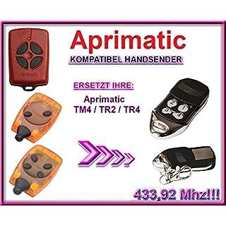 Aprimatic TR2 / TR4 / TM4 Kompatibel handsender 433,92Mhz