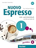Nuovo Espresso A1. Lehr- und Arbeitsbuch mit DVD und Audio-CD: Ein Italienischkurs