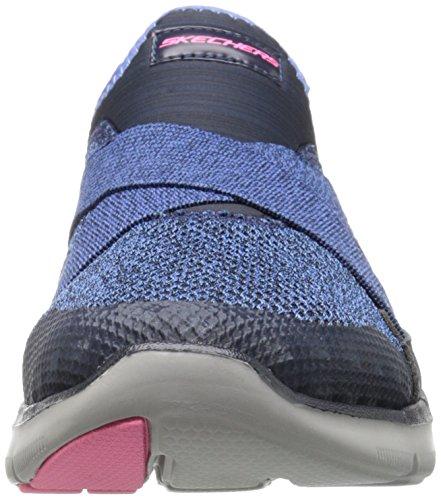 Skechers Damen Flex Appeal 2.0 New Image Sneaker Blau (Nvy)