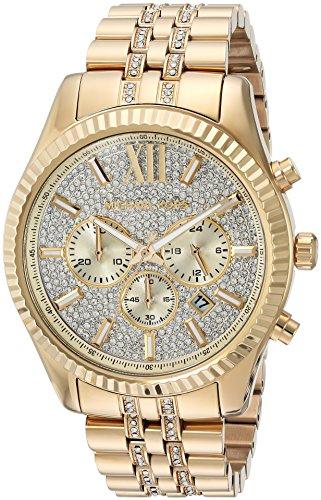 Michael Kors Men's Quartz Stainless Steel Casual Watch Color:Gold-Toned (Model: MK8579)