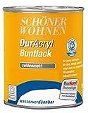 Schöner Wohnen DurAcryl Buntlack seidematt / Purpurrot RAL 3004