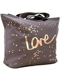 04687ff394 Radley - Grey  Love  Large Zip-top Tote Bag