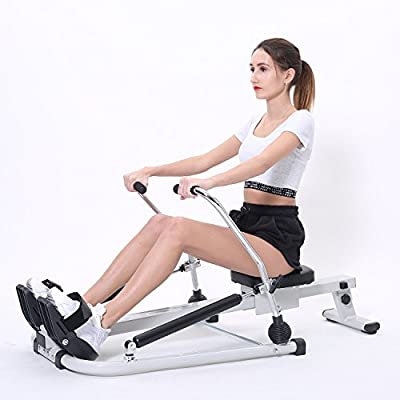 ISE Home Rowing Machine Body Sculpture Twin Hydraulic Exercise Machines -grey SY15001-GY by ISE