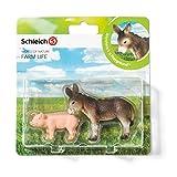 Schleich 21031 - Farm Life Babies, Wildtiere Spielset - Set 2