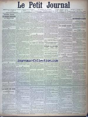 PETIT JOURNAL (LE) [No 12472] du 17/02/1897