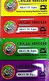 Organ Original 20 Machine Needles Set Of...