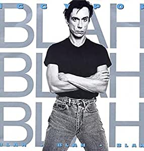 Blah blah blah 1986 vinyl music for Iggy pop t shirt amazon