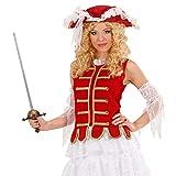 NET TOYS Épée de Mousquetaire Moyen-Âge Épée Avec Fourreau 68 cm Pirate Fleuret Carnaval Arme Rapière Chevalier Déguisement Accessoire