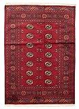 CarpetVista Pakistan Buchara 2ply Teppich 139x194 Orientalischer Teppich