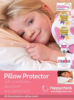 Hippychick White Pillow Protector, 50 x 75 cm - White
