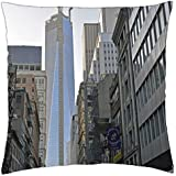 New York- Freedom Tower-unfinshed - Throw Pillow Cover Case (18