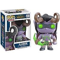 "World of Warcraft Illidan Figure Funko Pop Action Figure Toy Blizzard 4"""