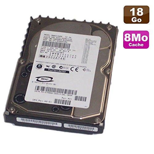 18.4 Gb Festplatte (Fujitsu Festplatte SCSI Ultra16018,4GB MAN3184MC 07h666ca05904-b10300dl 7h666)