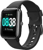 YONMIG Smartwatch, Fitness Armband Tracker Voller Touch Screen Uhr Wasserdicht IP68 Armbanduhr Smart Watch mit...