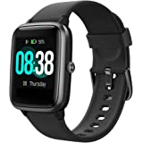Smartwatch, YONMIG Orologio Sportivo Fitness Tracker Donna Uomo, Impermeabile IP68 Touchscreen Smart Watch, Activity Tracker