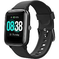 Smart Watch, YONMIG Fitness Tracker IP68 Waterproof Men Women Color Full Touch Screen…
