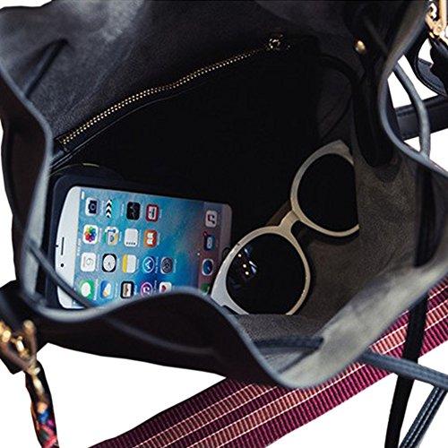 XY Fancy, Borsa a tracolla donna, nero (nero) - RH#BB-0808-23 Blau