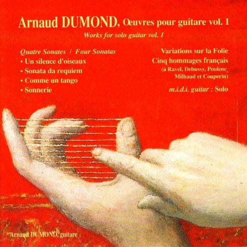 Dumond: Four Sonatas, Five French homages, Variations sur la Folie, Solo