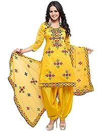 EthnicJunction Women's Dress Material
