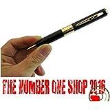 """-Thenumberoneshop-Mini Camara Espia En Boligrafo 4 GB De Memoria(Regalo """"Candy"""" : Limpiador portable, Para la pantalla de los teléfonos móviles)"""