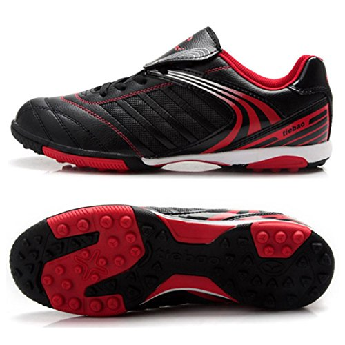 Men's Turf Soles Soccer Outdoor Football Shoes Black