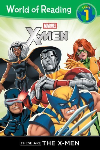 These are the X-Men Level 1 (World of Reading) by Macri, Thomas (2013) Paperback