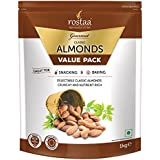 Rostaa Almonds Value Pack, 1000 g